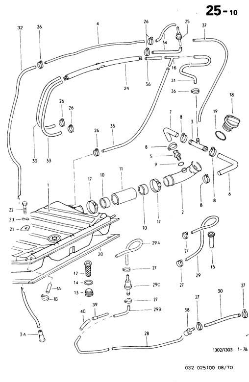 circuit de mise à l'air libre