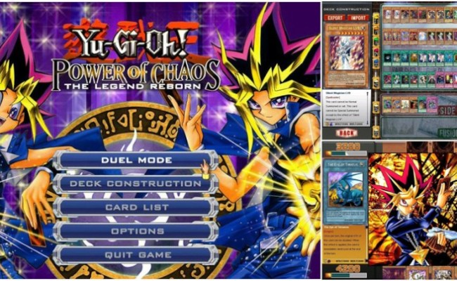 Free Download Game Yu Gi Oh Power Of Chaos The Legend