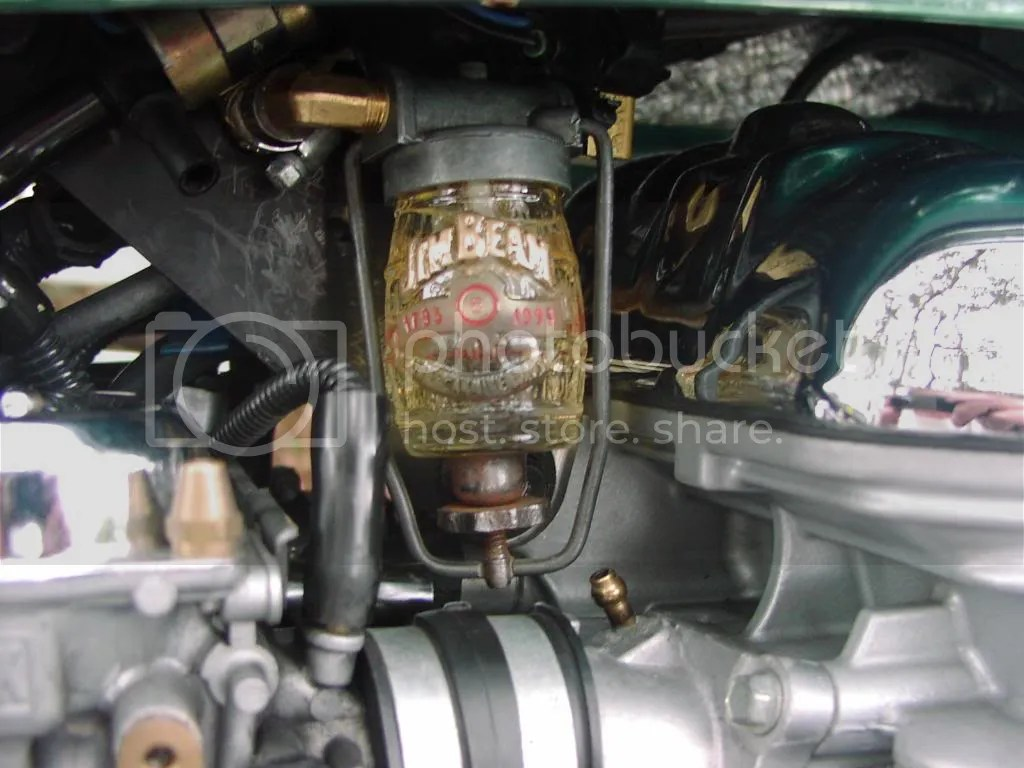 hight resolution of sediment bowl fuel filter