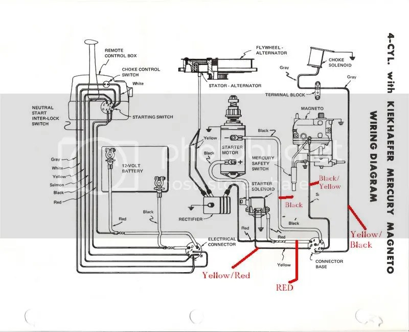 Old Merc 500 with a new control box question? Page: 1