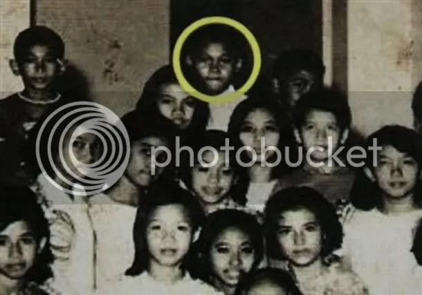 Obama kecil dan teman-temannya
