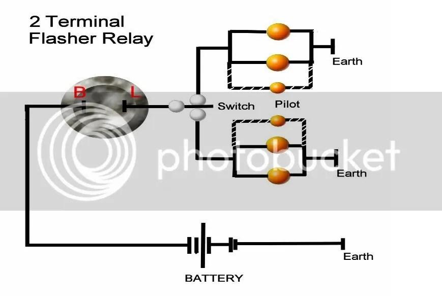 LED turn signal flasher (2pole vs. 3pole)