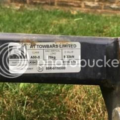 Skoda Octavia Towbar Wiring Diagram 7 Pin Round Trailer Plug Fs Swan Neck Tow Bar Off A 2015 Reg Estate