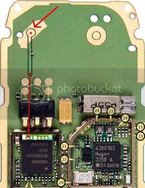 Mobile Diagram With Repairing Hardware 1600 With No Network