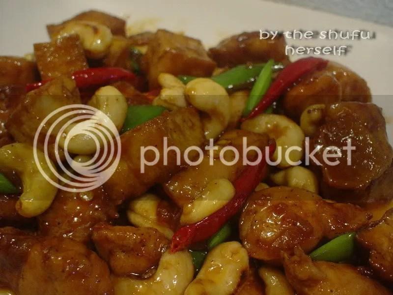 ayam kacang mede