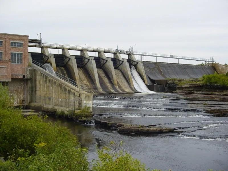 Boney Falls Dam