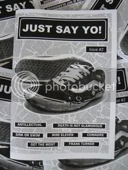 cover art for JUSTSAY YO! fanzine #2