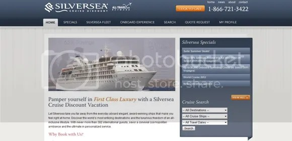 Silversea Cruise Discount