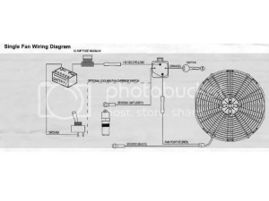 electric fan thermostat question  TriFive, 1955 Chevy