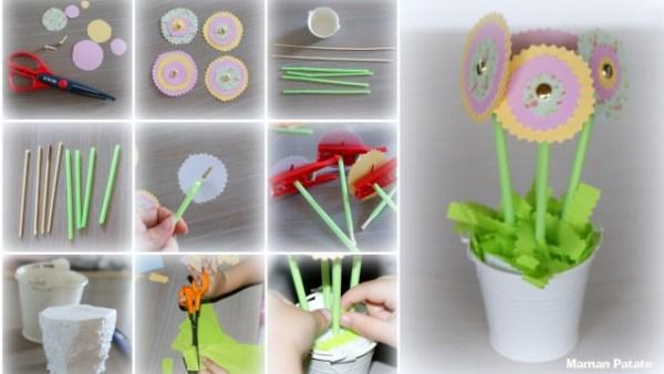 tuto fleurs en papier