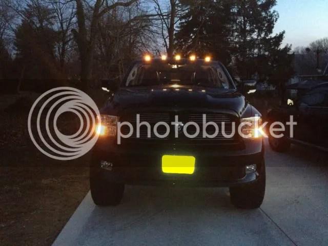 Recon Smoked Cab Lights DodgeTalk Dodge Car Forums