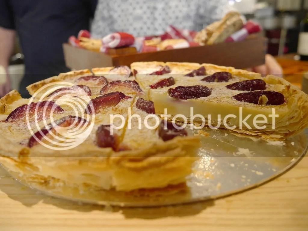 strawberry cheesecake, hotel jen tanglin