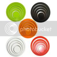 new fashion 10 circle ring indoor 3D Wall ART decoration ...
