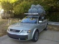 Max Roof Rack Load Rating? 2004 S4/A4