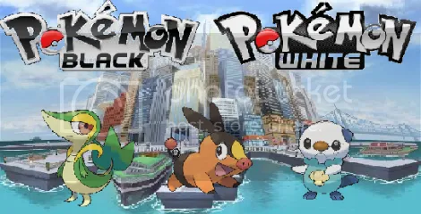 Pokemon Black and White Pictures, Images and Photos