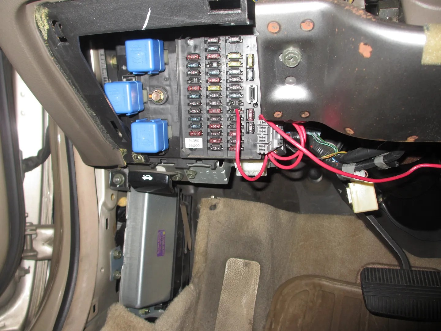 2000 nissan frontier fuel pump wiring diagram land rover discovery stereo 2001 xterra location ford mustang