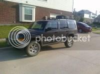 Jeep cherokee defender roof rack