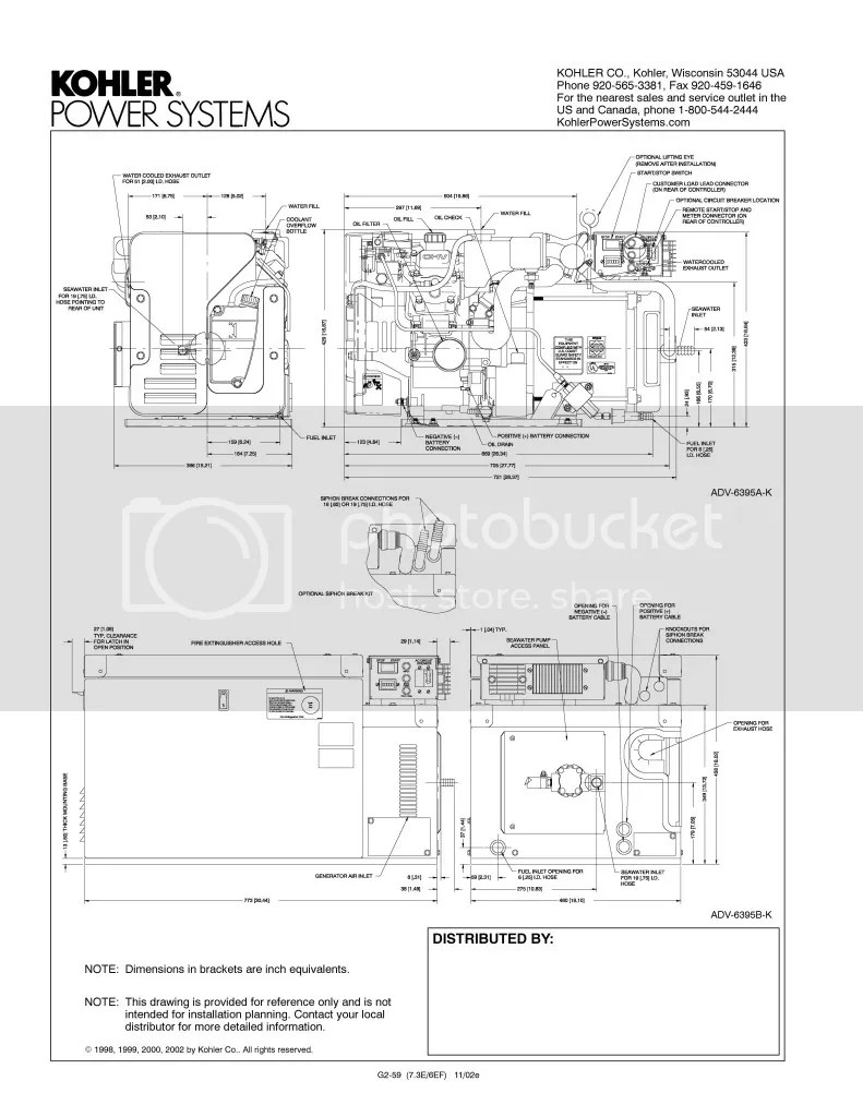 kohler marine generators www topsimages com rh topsimages com Kohler  Ignition Wiring Diagram Kohler Charging Wiring Diagram