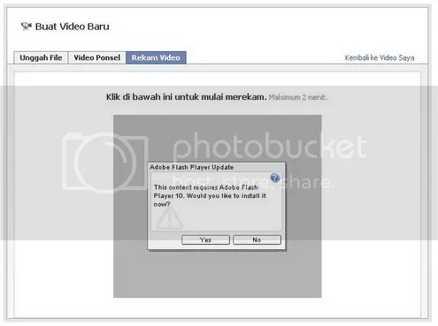 cara merekan video di facebook