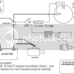 Farmall Super C 12 Volt Wiring Diagram 2001 Toyota Corolla Serpentine Belt Wd45 Alternator - Yesterday's Tractors
