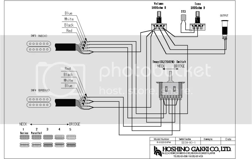 ibanez rg 320 dx wiring diagram