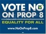 no on prop 8 Pictures, Images and Photos