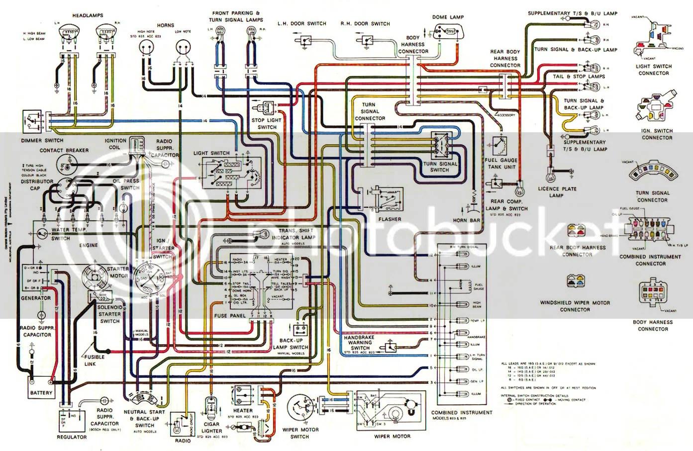 hight resolution of hq wiper motor wiring diagram wiring librarylj torana wiper motor wiring diagram lc gtr dash general