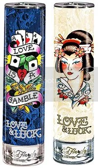 Ed Hardy Love and Luck (L-Mens, R-Womens)