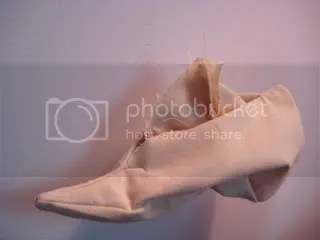 floating canvas cavalier shoe