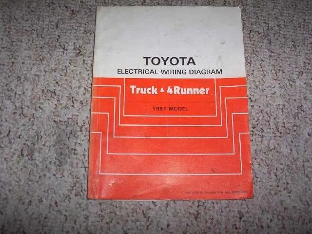 88 Toyota Pickup Ke Diagram Also With Wiring Diagram For 1987 Toyota