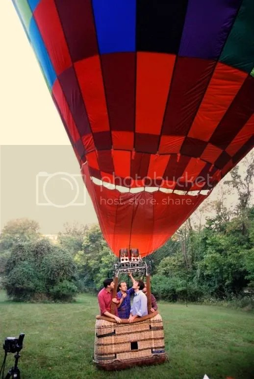 husband&wife,dark dark woods,hot air balloon