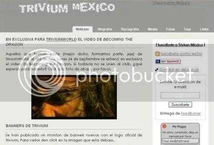TRIVIUM MEXICO