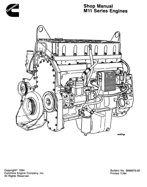 M11 Engine Diagram