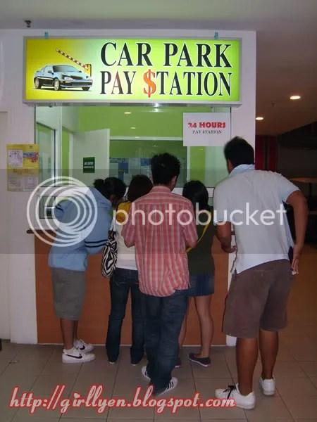 Car park fee