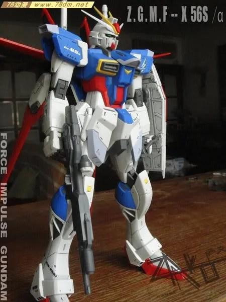 Zgmf X56s 空战型脉冲高达 高达mg模型大全 Mg高达模型 78动漫模型玩具网 高达专区 高达模型