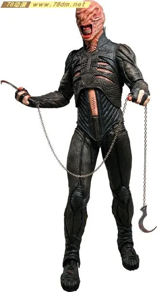 猛鬼追魂 Hellraiser Chatterer Action Figure NECA 美系玩具专区 美系玩具