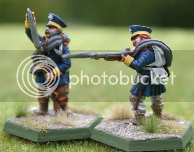 Skirmishers for the 2tes Battalion, 14te Schlesische Landwehr