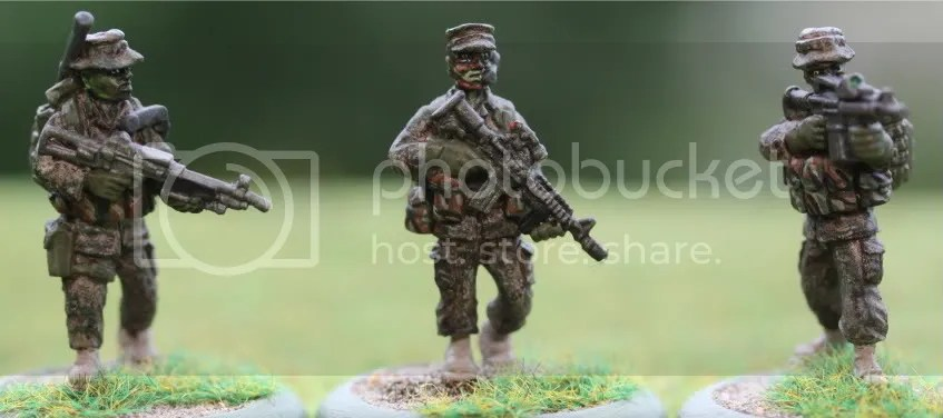 Force Recon Marines (Eureka Miniatures)