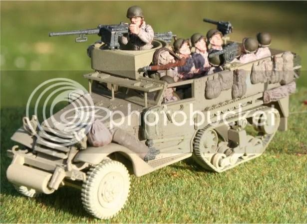 Corgi unlimited American M3 (gunner by Brent Dietrich)