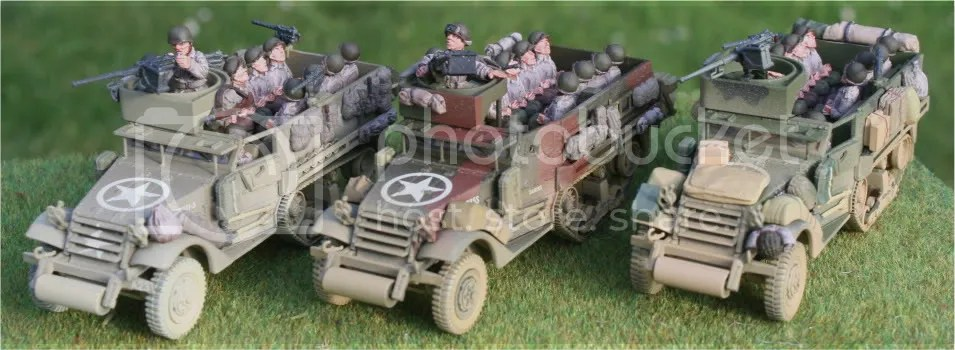 3 Corgi M3 Halftracks