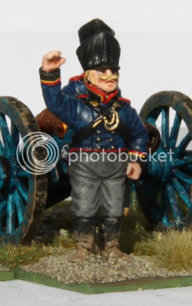 Prussian artillery NCO