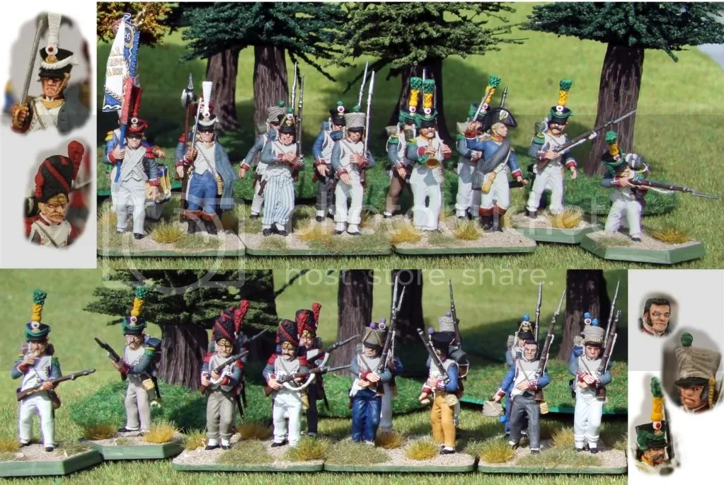 Generic French infantry unit