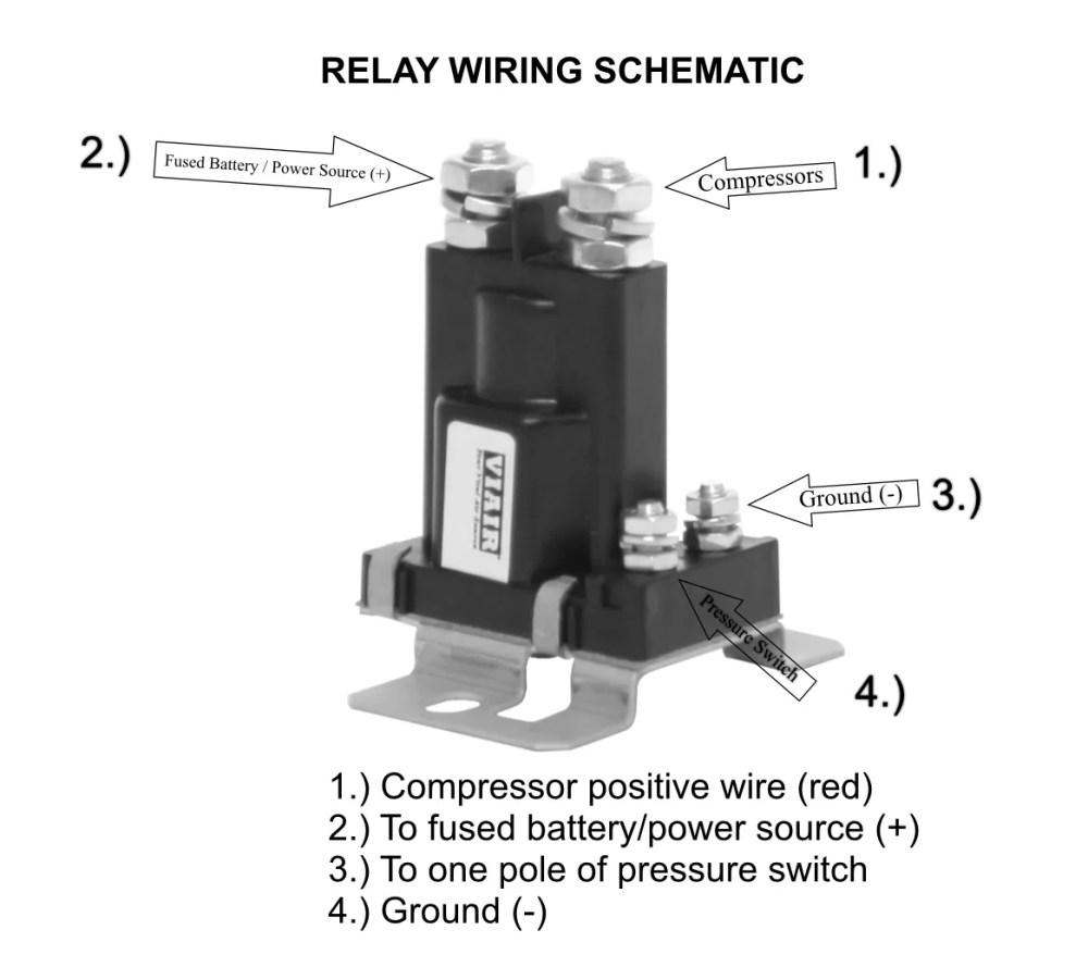 medium resolution of viair compressor pressure switch relay wiring diagram