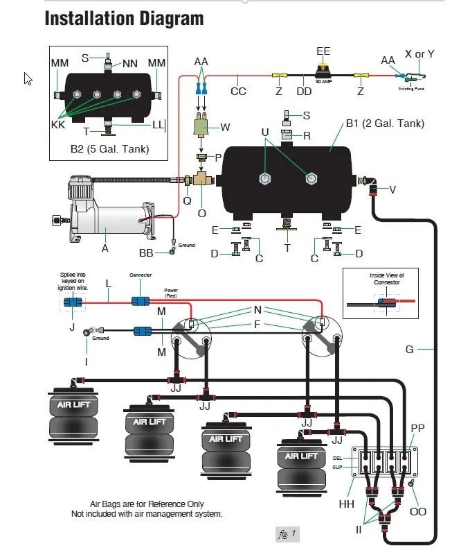 air ride suspension wiring diagram danfoss fridge thermostat adjustable great installation of all rh 2 14 drk ov roden de trailer
