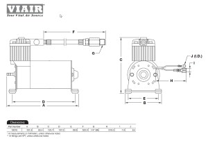 Viair 100C Compressor Train Horns, Air Ride Suspension Bags, Load Support | eBay