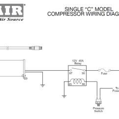Air Ride Suspension Wiring Diagram For 7 Pin Trailer Plug Viair 90103 Pressure Switch 165 200 Psi 1 8 Male Npt 818114001031 Ebay
