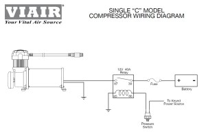Viair 90101 Air Ride Suspension Pressure Switch 85105 PSI