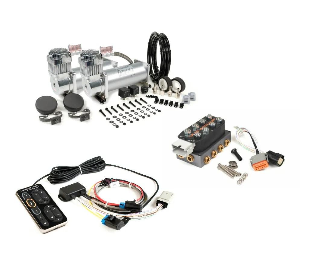 Accuair Speed Switch w/ VU4 Manifold Viair 450C Dual