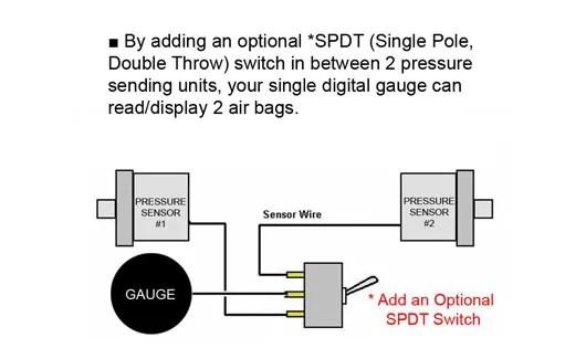 air pressure gauge wiring diagram wiring schematic diagram - digital gauge  wiring diagram