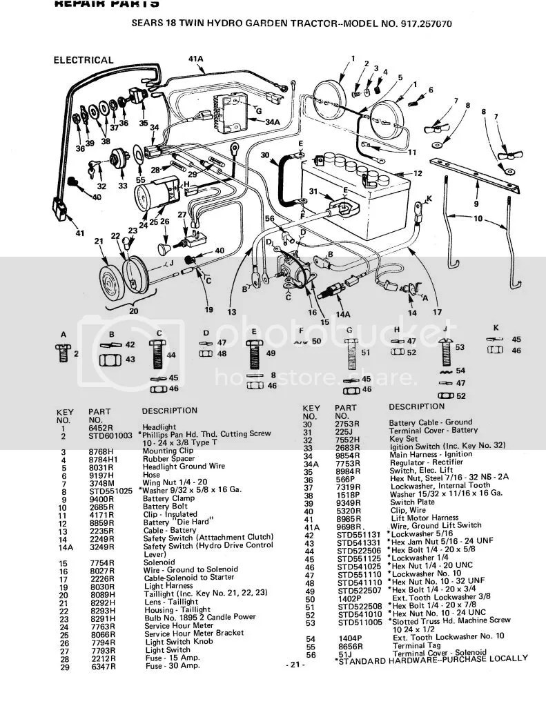 medium resolution of cub cadet 2186 wiring diagram